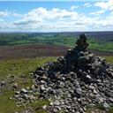 The summit of Calver Hill.